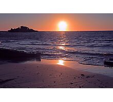 Safety Bay Sunset Photographic Print