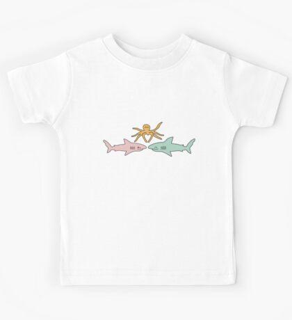 Love Sharks Kids Tee