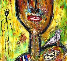 Bird Man by outsiderart