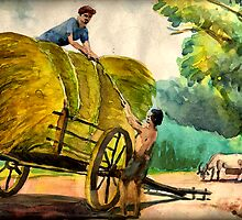 """Bullock cart by """" RiSH """""""