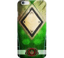 GreenRanger 3 iPhone Case/Skin