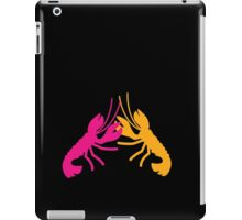 Lobster Crayfish food fight!  iPad Case/Skin