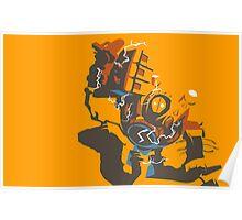 Blitzcrank Vector Design Poster
