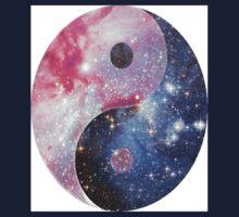 Yin & Yang Stars Kids Tee