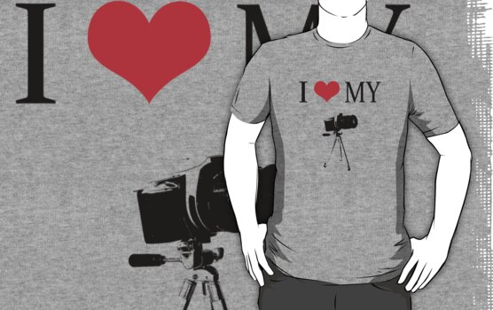 I Love My Camera by Sharon Stevens