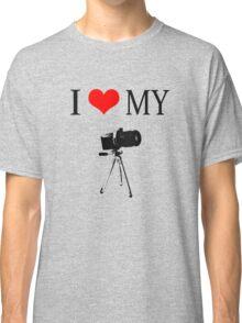 I Love My Camera Classic T-Shirt