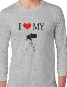 I Love My Camera Long Sleeve T-Shirt