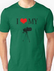 I Love My Camera Unisex T-Shirt