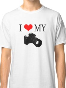 I Love My Camera ll Classic T-Shirt