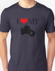 I Love My Camera ll Unisex T-Shirt
