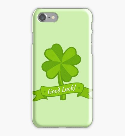 Clover for Patrick day iPhone Case/Skin