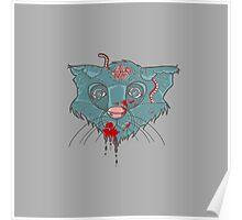 Zombie Frankenkitty Poster