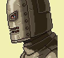 I AM IRONMAN pixel art by PXLFLX