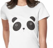 Panda Panda Womens Fitted T-Shirt