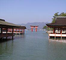 Itsukushima Jinja by Christie Harvey