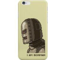 I AM IRONMAN pixel art iPhone Case/Skin