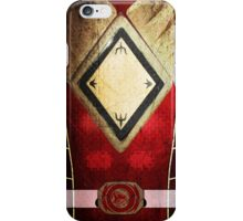 RedRanger 4 iPhone Case/Skin