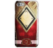 RedRanger 4 iPhone Case/Skin