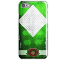 GreenRanger 4 iPhone Case/Skin