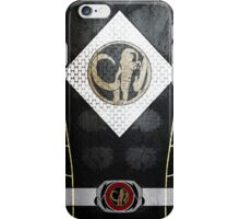 BlackRanger 4 iPhone Case/Skin