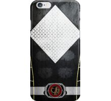 BlackRanger 3 iPhone Case/Skin