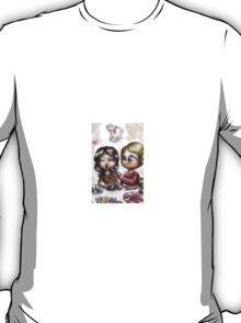 Chibi Hannibal pairings - Hannibloom T-Shirt