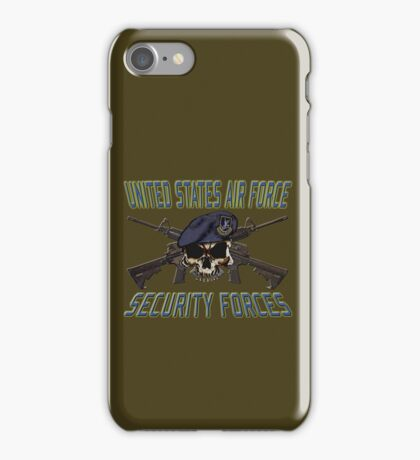 USAF Security Forces iPhone Case/Skin
