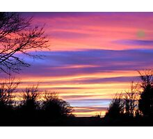 Watercolor Sky Photographic Print