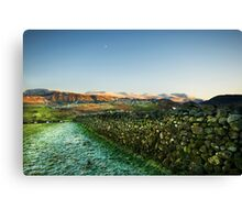 Helvellyn from Keswick Canvas Print