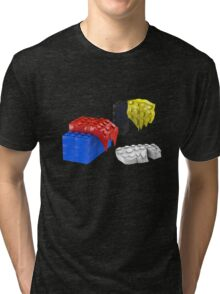 Dali Toy Bricks Tri-blend T-Shirt