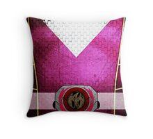 PinkRanger 3 Throw Pillow