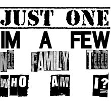 Orphan Black - Just One. I'm A Few. No Family Too. Who Am I? by OrphanBlack1016
