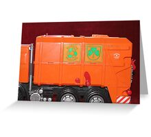 toys-recycling Greeting Card