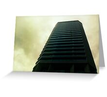 Big City Skyline........the pastel set  # two Greeting Card