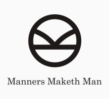Kingsman Secret Service - Manners Maketh Man Black by KimTaekYong