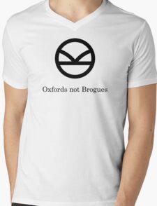 Kingsman Secret Service - Oxfords not Brogues Black Mens V-Neck T-Shirt