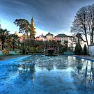 Icy Portmeirion by Paul Sampson