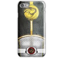 WhiteRanger4 iPhone Case/Skin