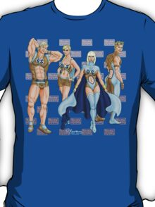 The Blonde Squad by Kevenn T. Smith T-Shirt