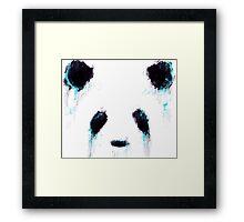 Ink Panda  Framed Print