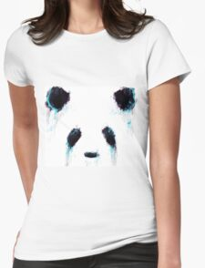 Ink Panda  Womens Fitted T-Shirt