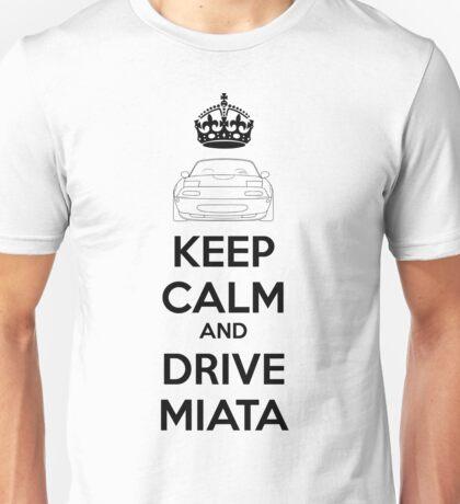 Keep Calm And Drive Miata NA Unisex T-Shirt