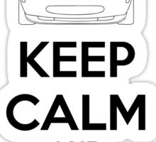 Keep Calm And Drive Miata NA Sticker