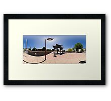 Chinese Gateway - Full 360° Panorama Framed Print