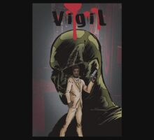 Vigil #1 Cover T-Shirt by Colin Wells