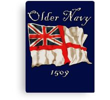 Older Navy; 1509 Canvas Print