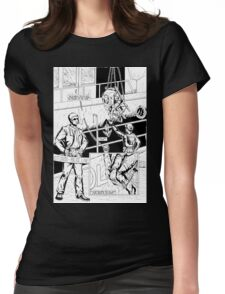 Vigil Pinup #1 T-Shirt Womens Fitted T-Shirt