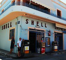 Shell in Greece by Swell Photography