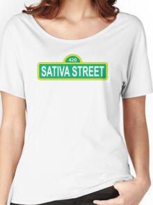 Sativa Street Women's Relaxed Fit T-Shirt