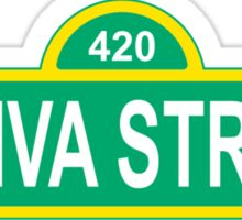 Sativa Street Sticker